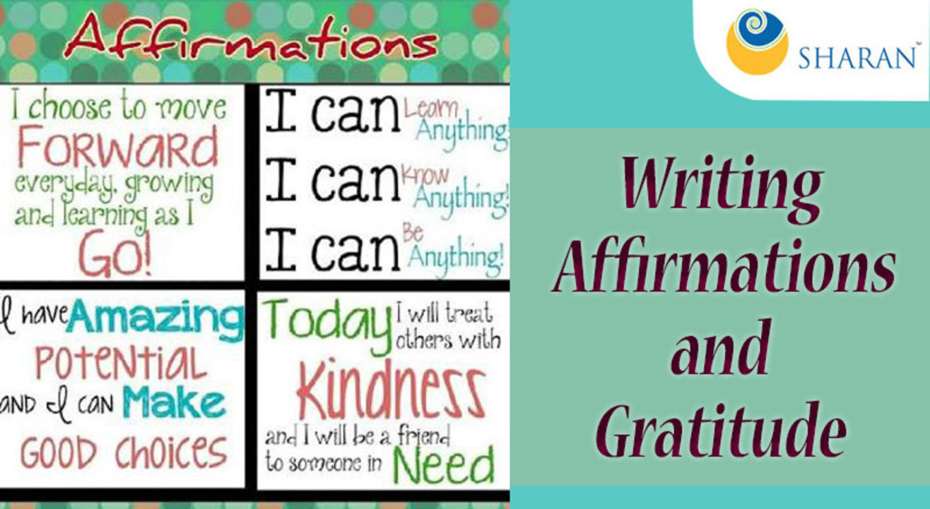 Writing Affirmations and Gratitude