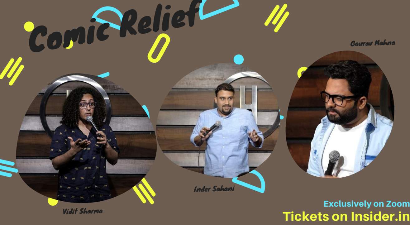Comic Relief ft. Vidit,Inder and Gourav