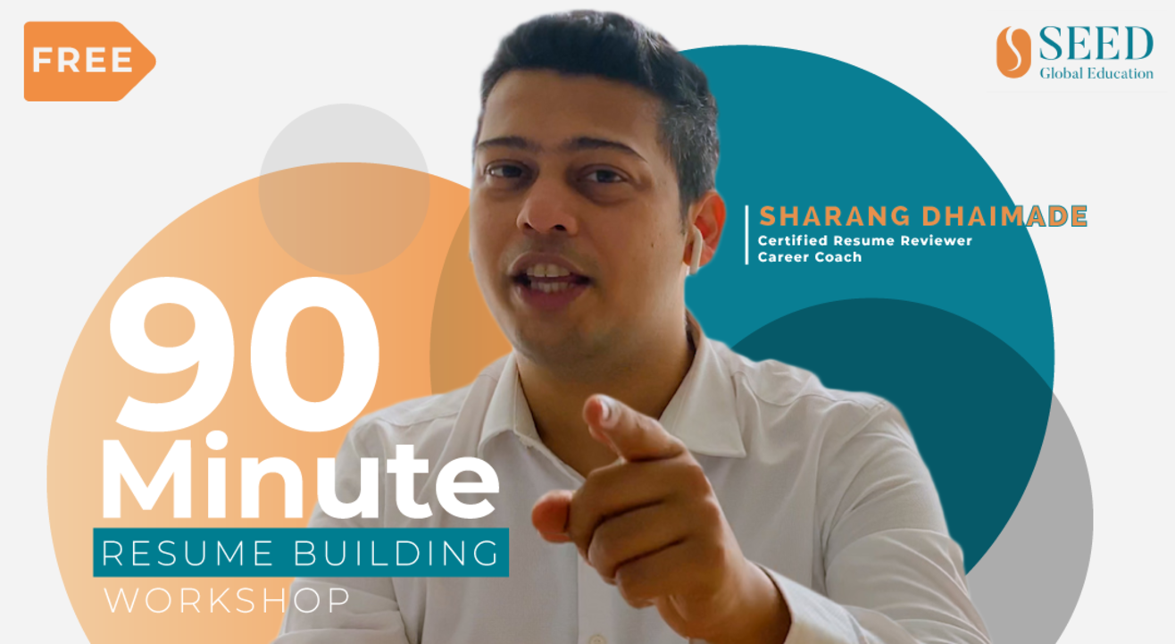90 Minute Resume Building Workshop by Sharang Dhaimade