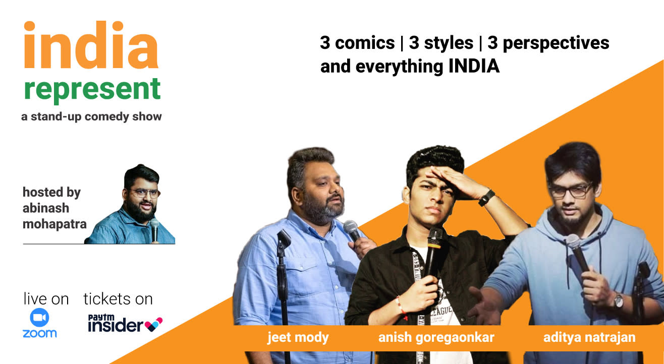India - Represent - A stand-up Comedy Show