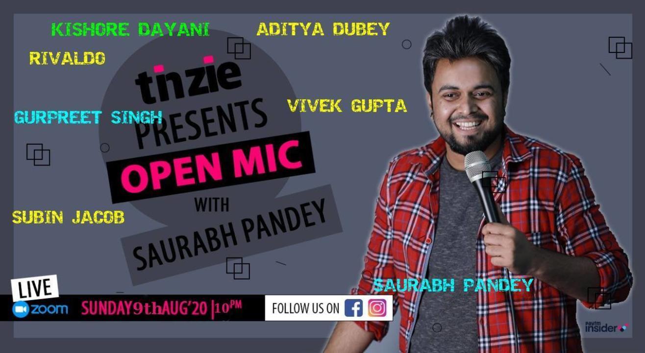 Tinzie presents Open Mic with Saurabh Pandey