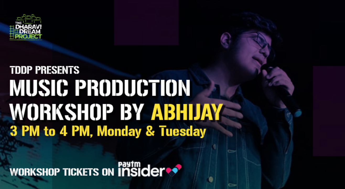 Music Production workshops kicks off with 'ABHIJAY' at the Online AfterSchoolofHipHop!