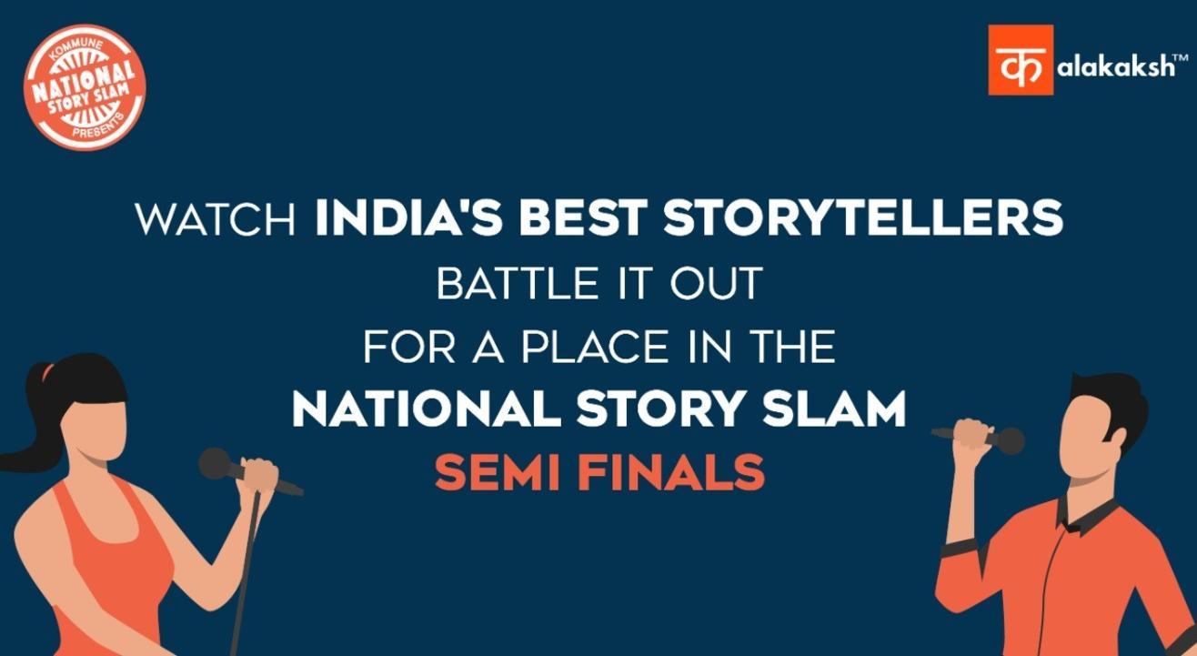 National Story Slam Regional Qualifiers - West Zone