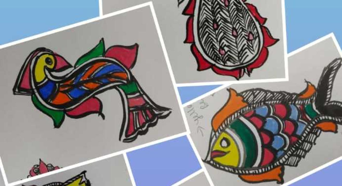 Learn Beautiful Madhubani Painting Art with Mira Vara on Zoom