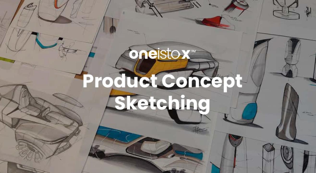 Oneistox - Product Concept Sketching workshop