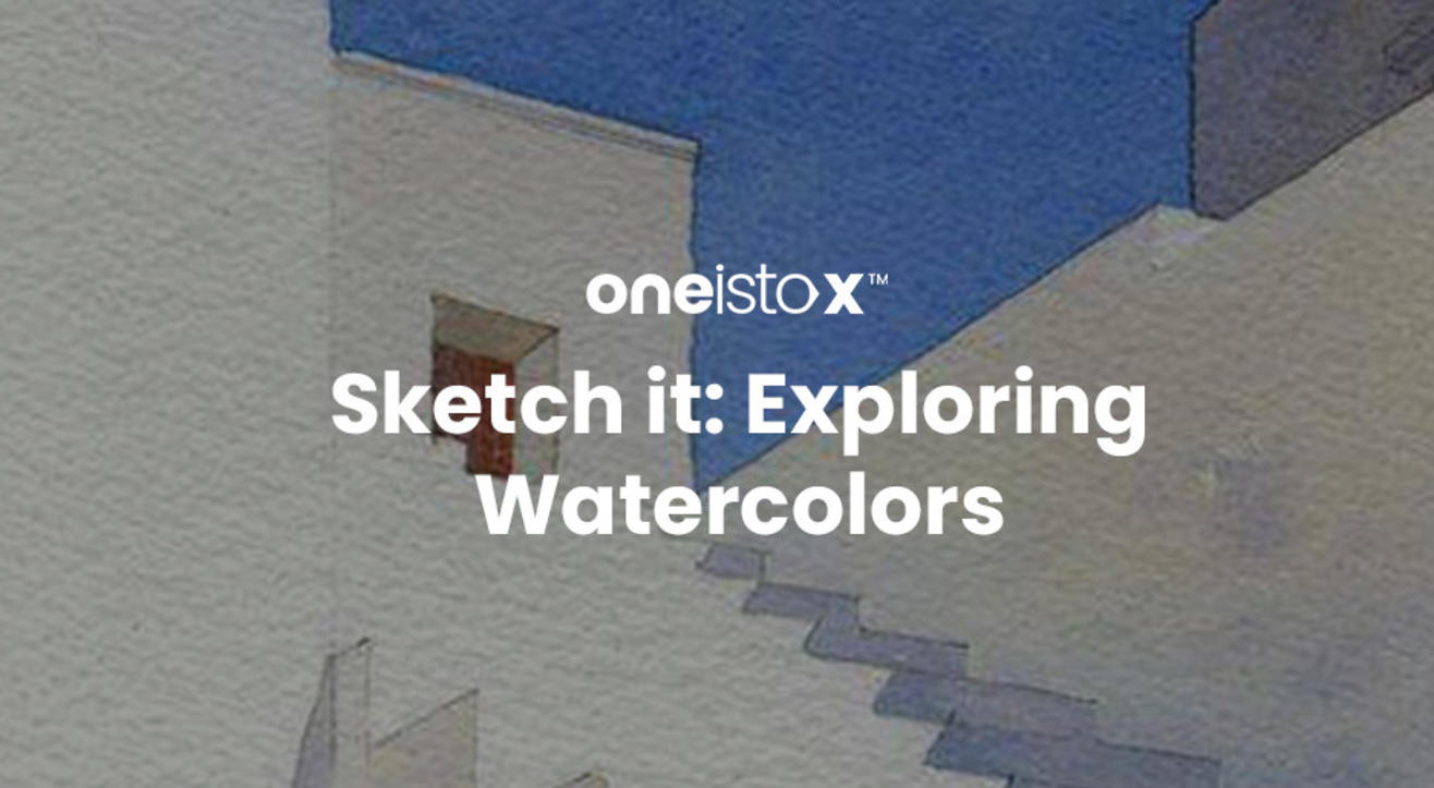 Oneistox - Sketch it: Exploring Watercolors Workshop