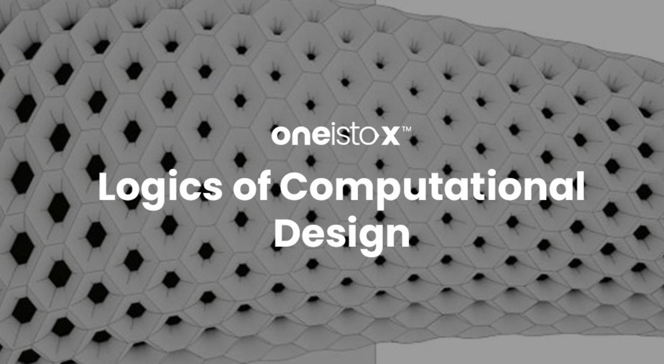 Oneistox - Logics of Computational Design Workshop