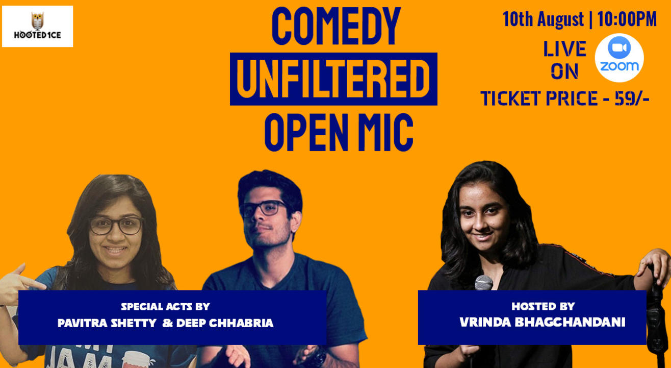 Comedy Unfiltered Open Mic ft. Pavitra Shetty  and Deep Chhabria