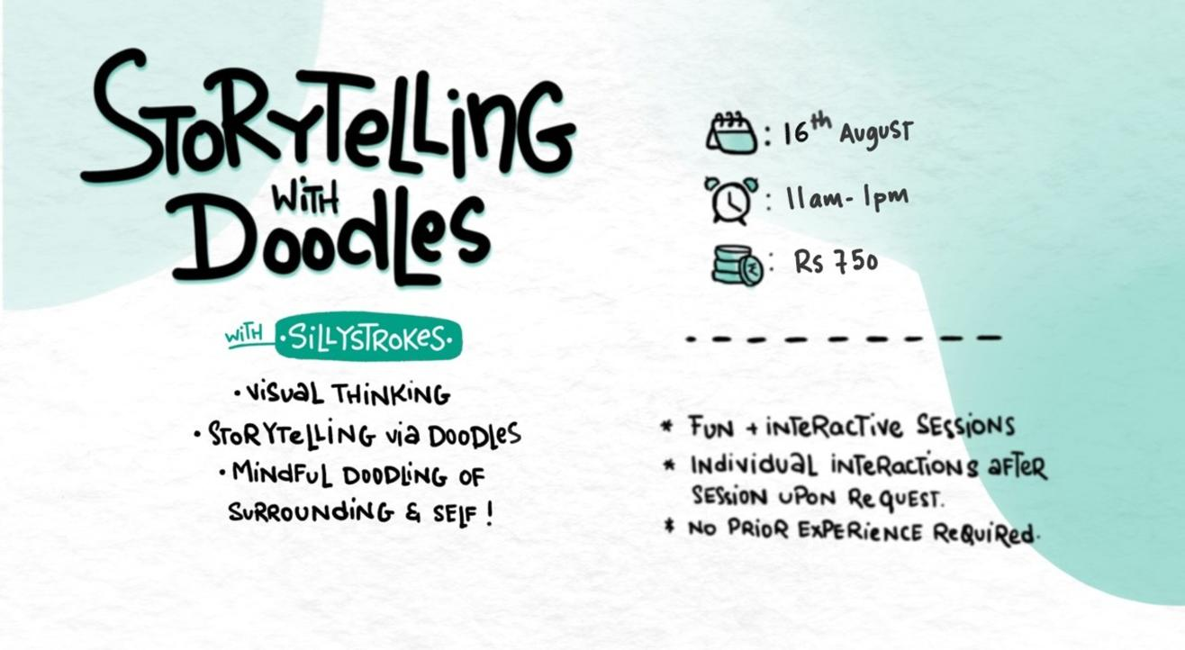 Storytelling with Doodling : Online Workshop