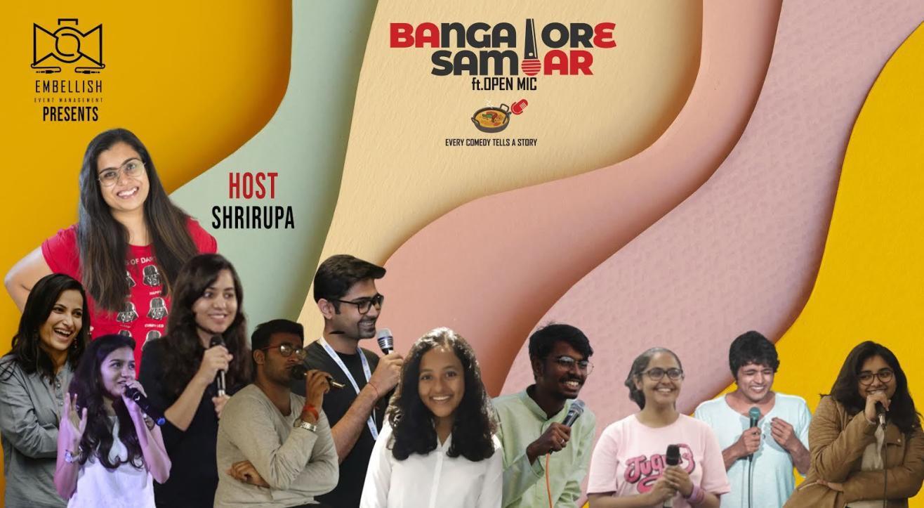 Bangalore Sambar ft.OPENMIC (English) | Embellish events