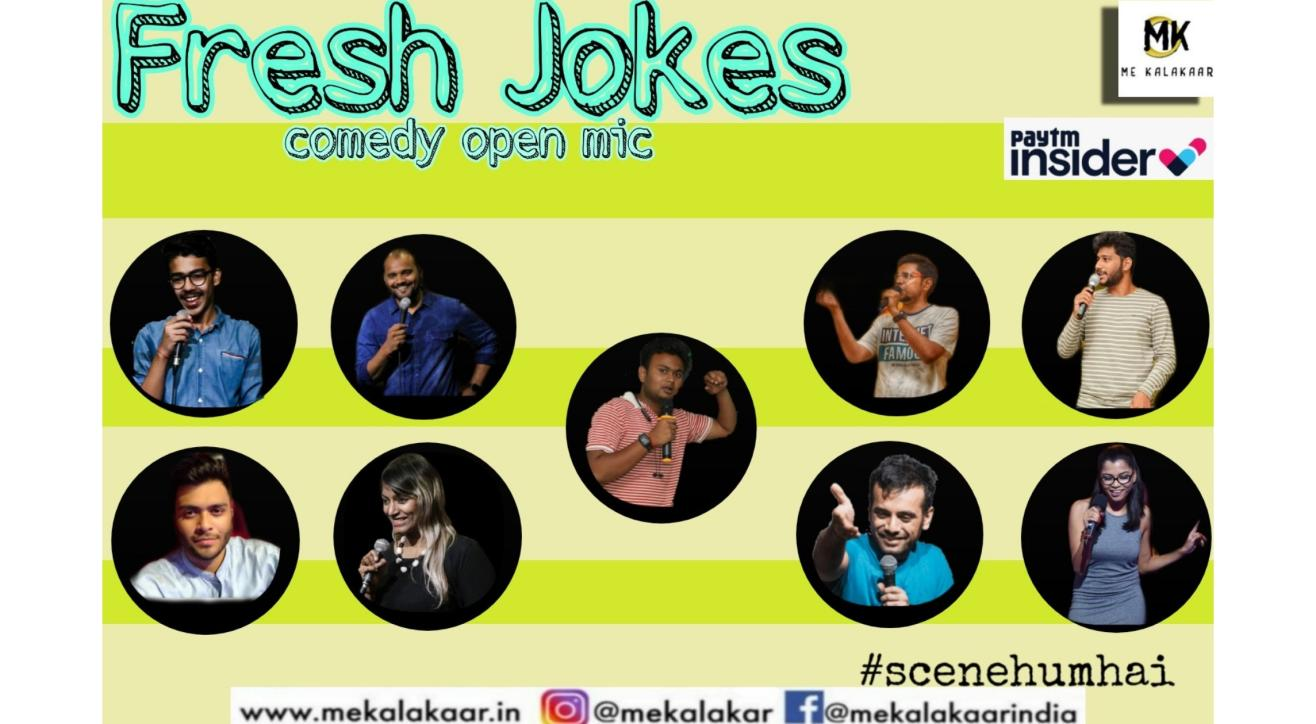Me Kalakaar Fresh Jokes Stand Up Comedy Open Mic