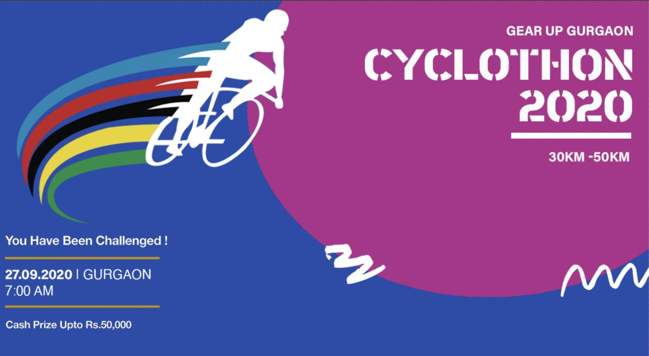 Gurgaon Cyclothon 2020