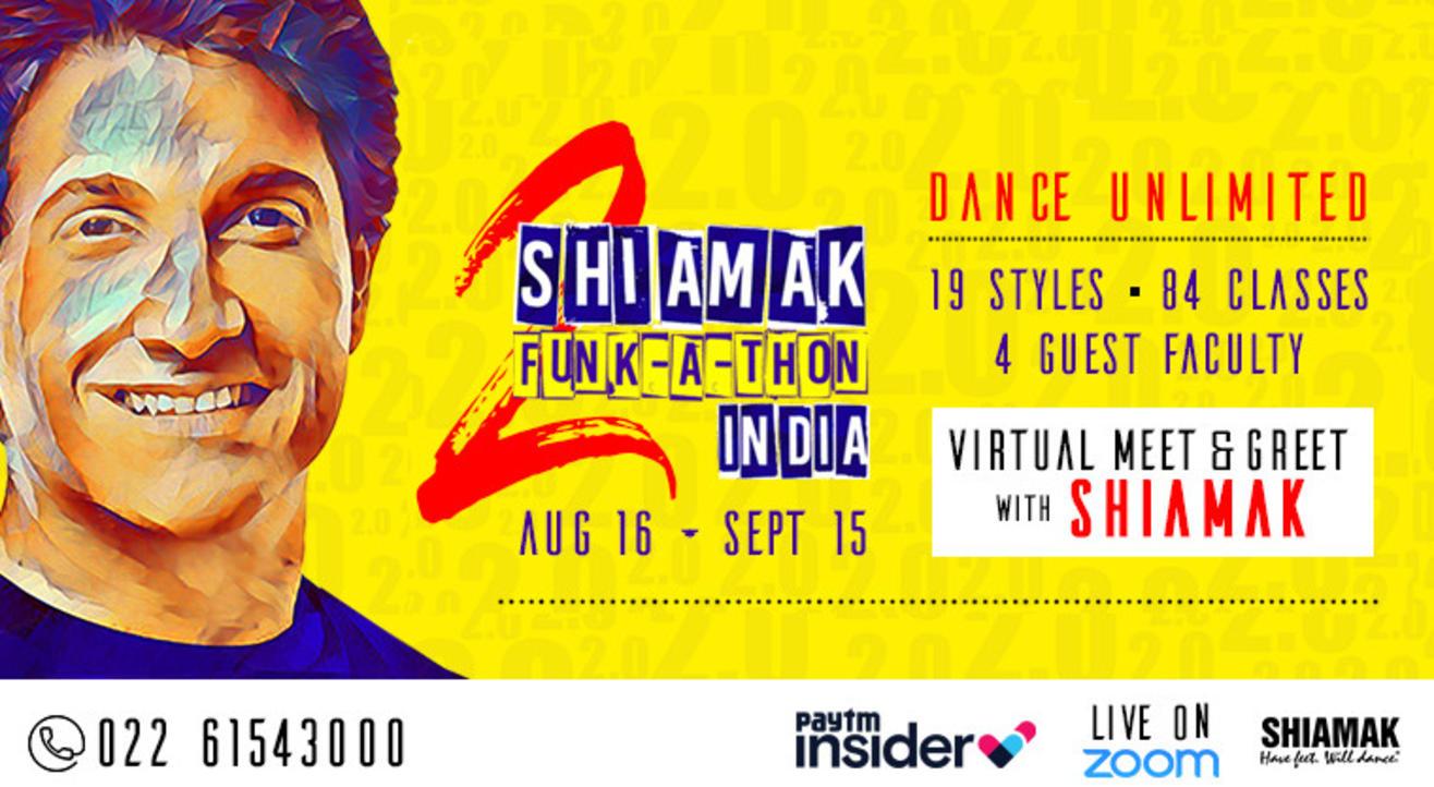 SHIAMAK Funk-A-Thon 2.0 - Adults' Batch (12+ years) | Online Dance Classes