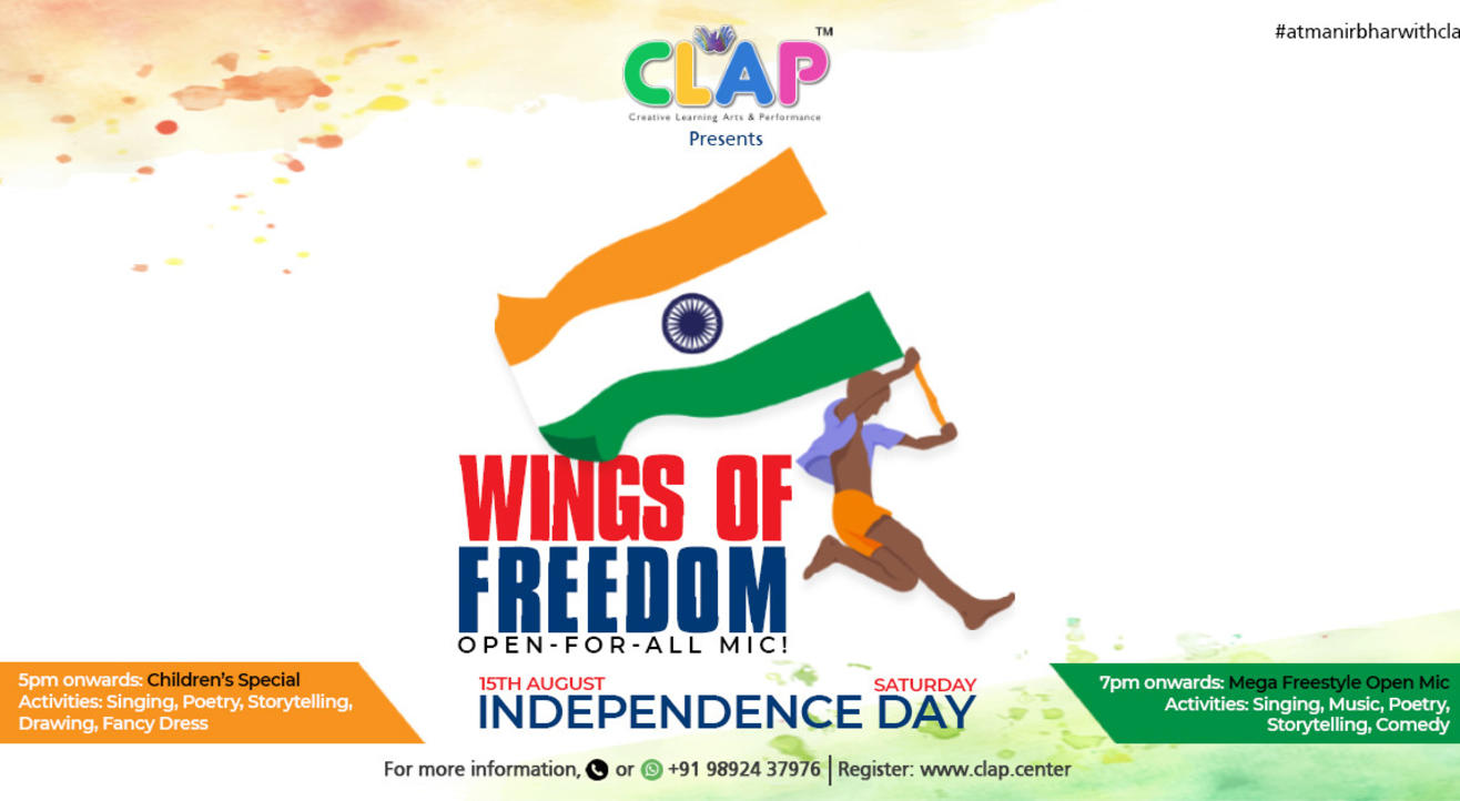 WINGS OF FREEDOM – OPEN FOR ALL MIC!