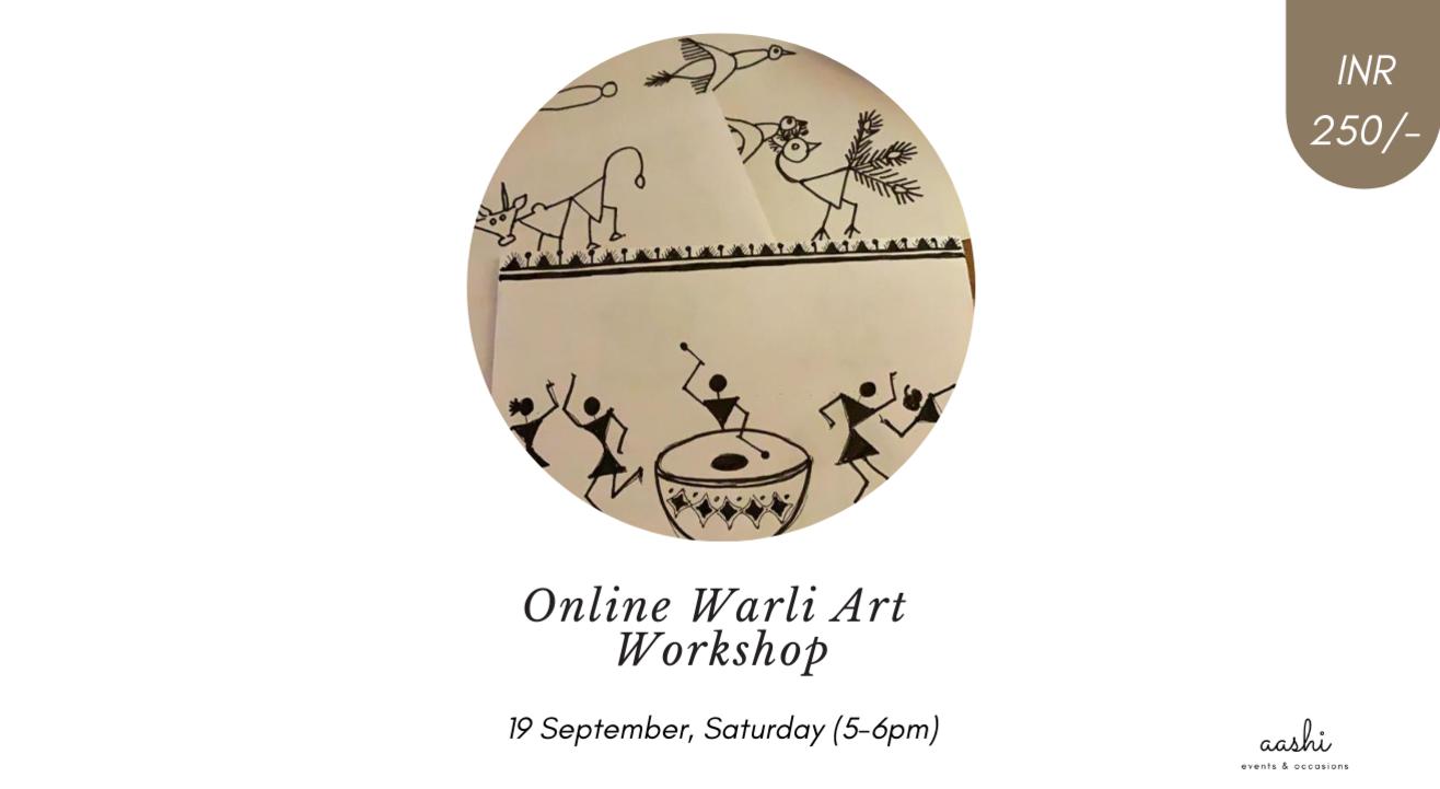 Online Warli Art Workshop