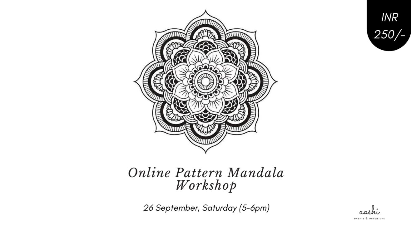 Online Pattern Mandala Workshop