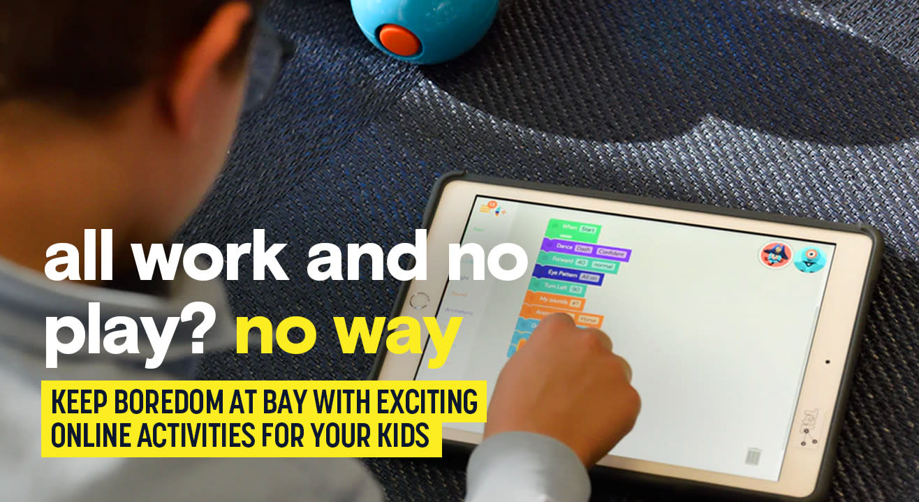 10x fun, no need to run. Online classes for kids are here.