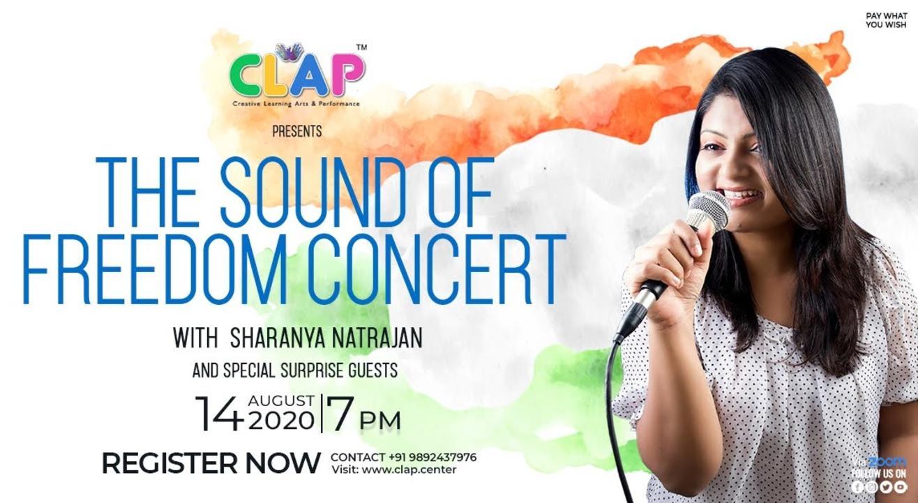 The Sound Of Freedom Concert- Sharanya Natrajan