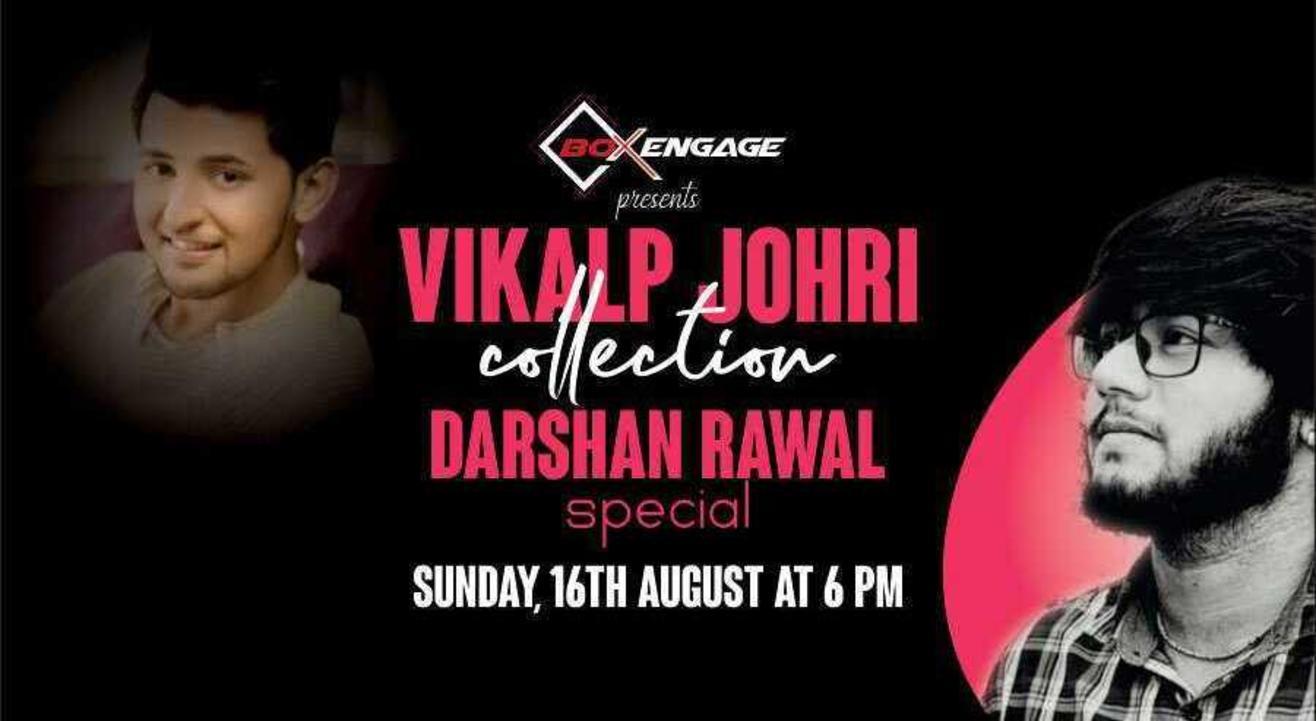 Vikalp Johri Collection - Darshan Rawal Special