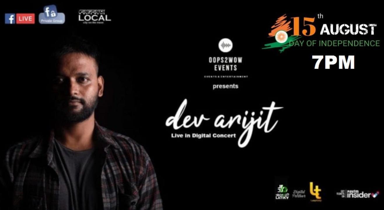 Dev Arijit Live in Concert