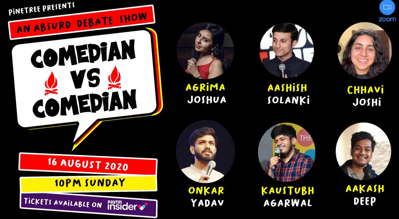 Comedian Vs Comedian: A Debate Show