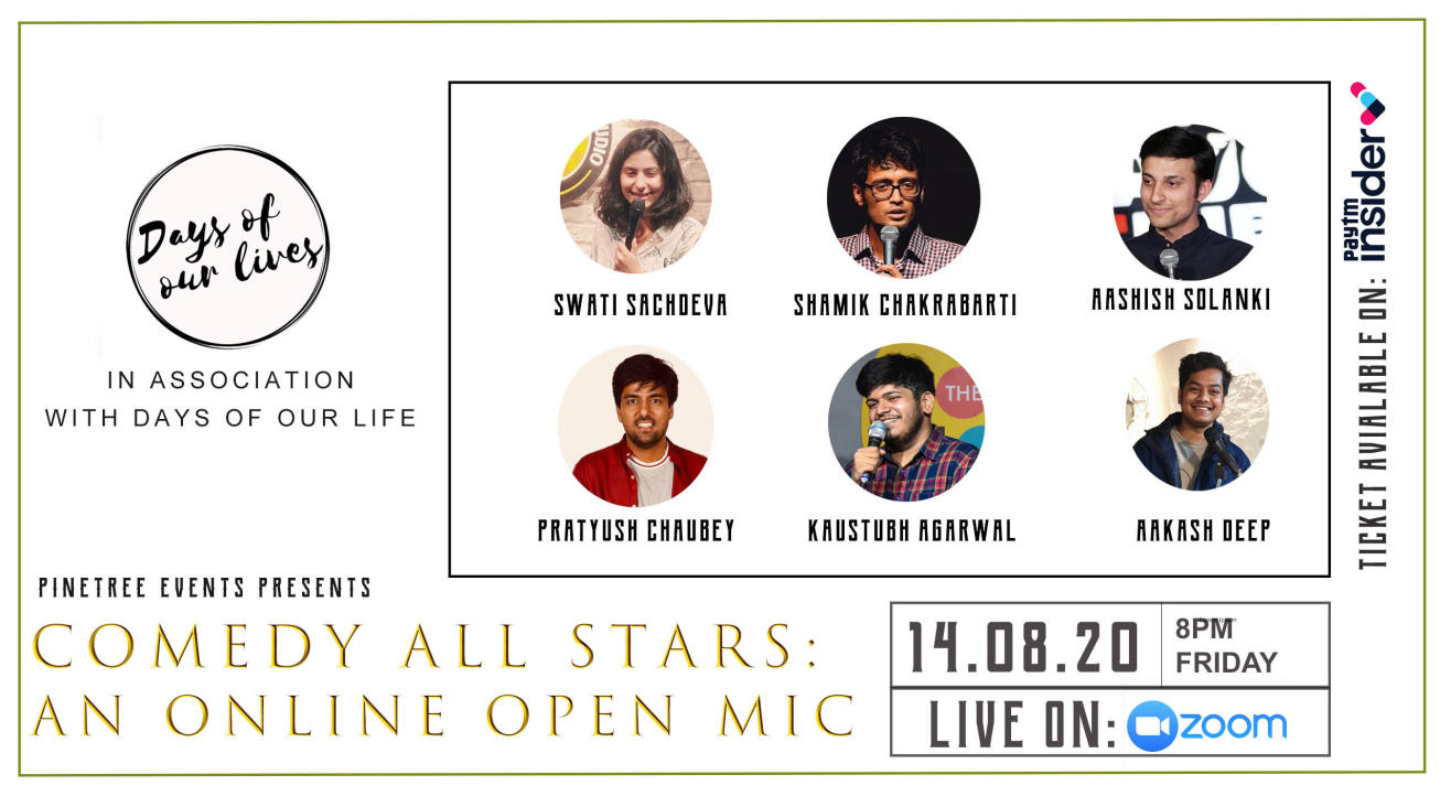 Comedy All Stars:An Online Open Mic
