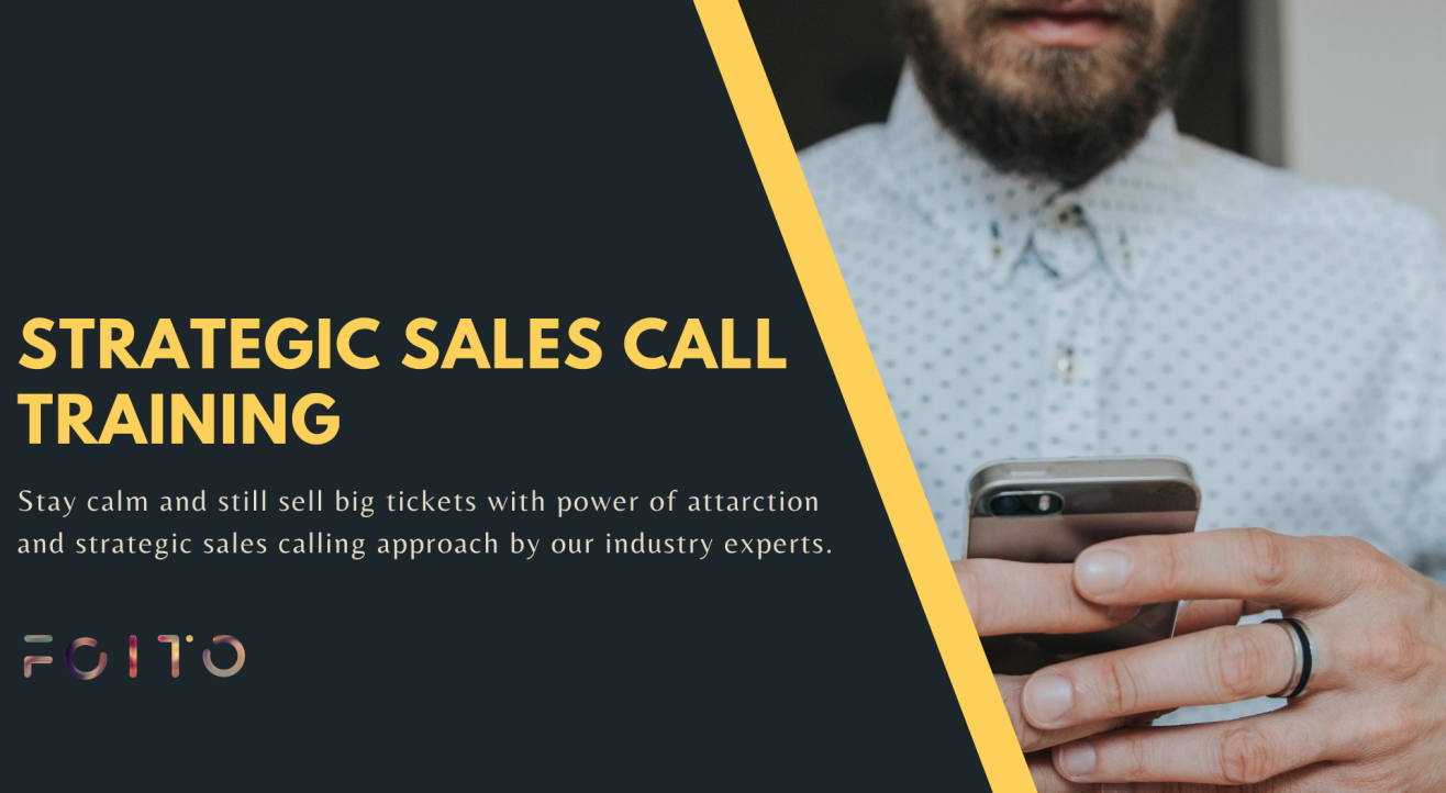 Strategic Sales Call Training
