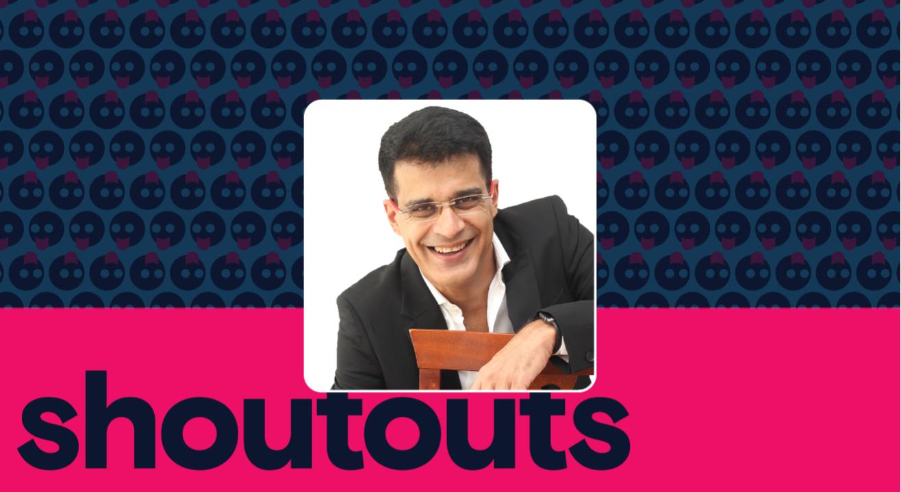 Request a Shoutout by Anshu Mor
