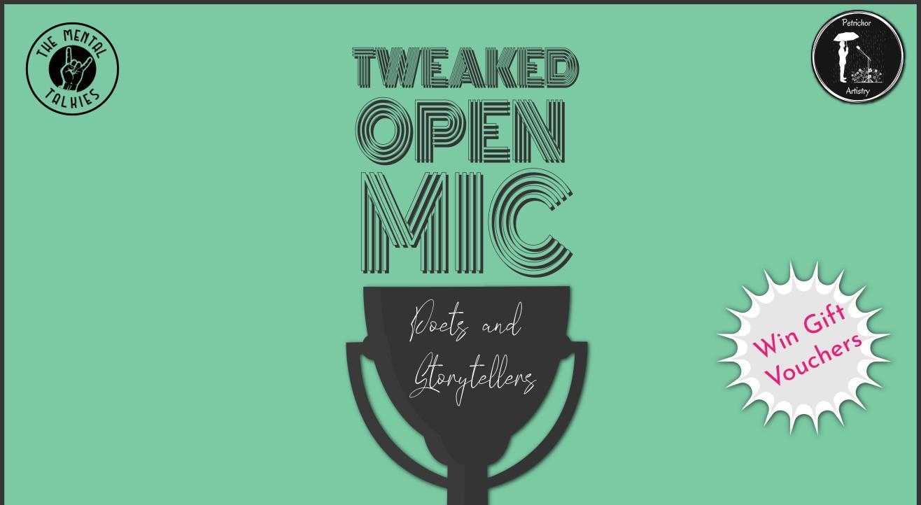 Tweaked Open Mic-Poetry and Storytelling
