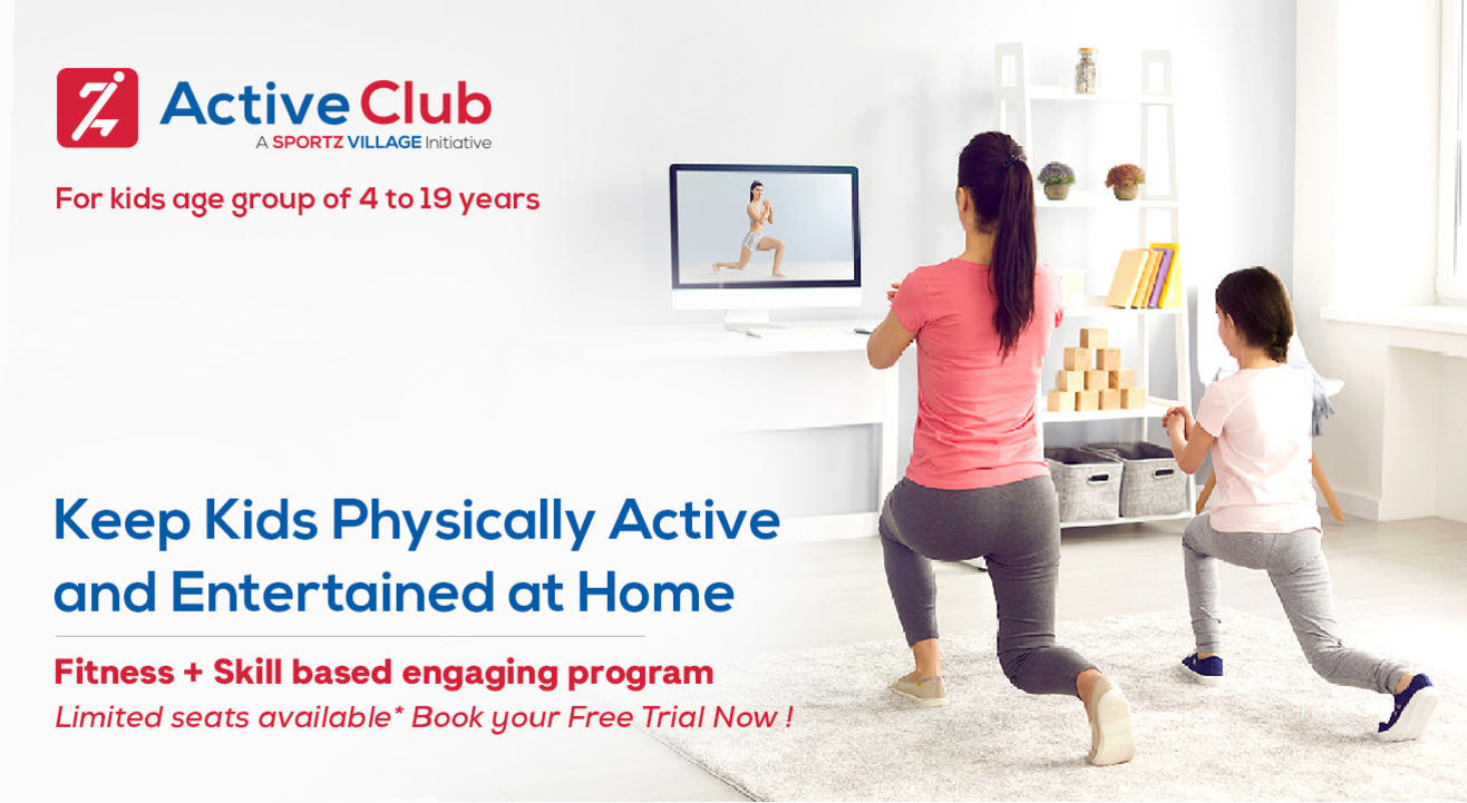 Active Club - Physical Activities for kids at Home (4-19 years)