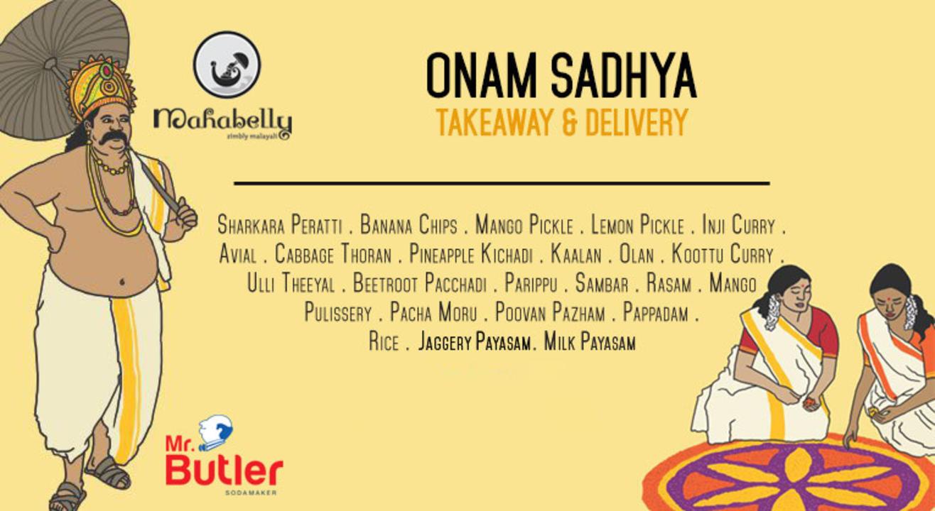Mahabelly Onam Sadhya