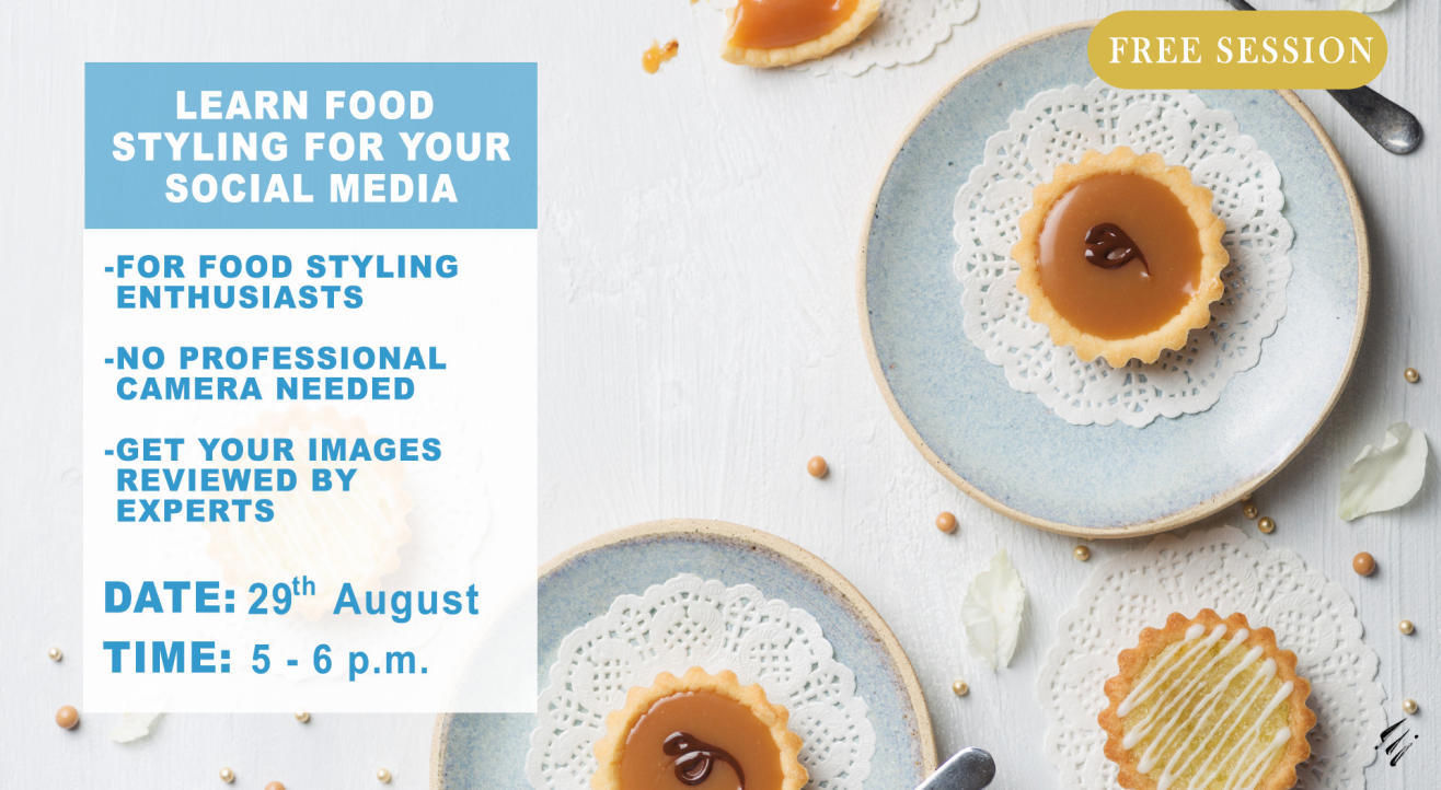 Learn Food Styling for your Social Media