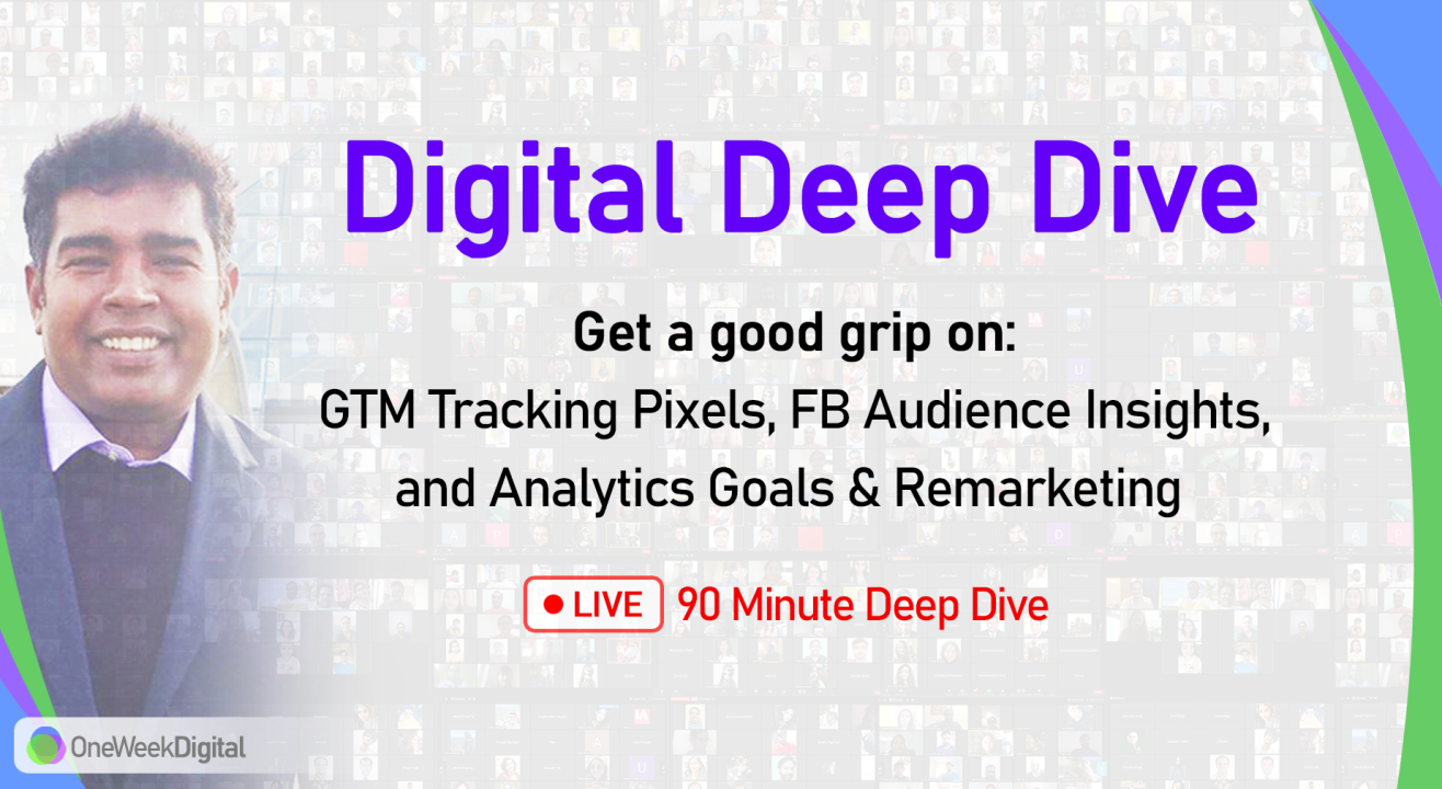 Digital Marketing Deep Dive for Bosses - Live Workshop