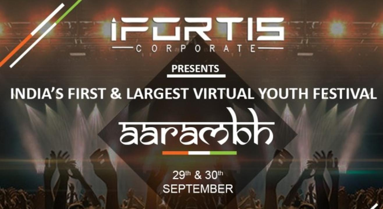 INDIA'S FIRST & LARGEST VIRTUAL YOUTH FESTIVAL