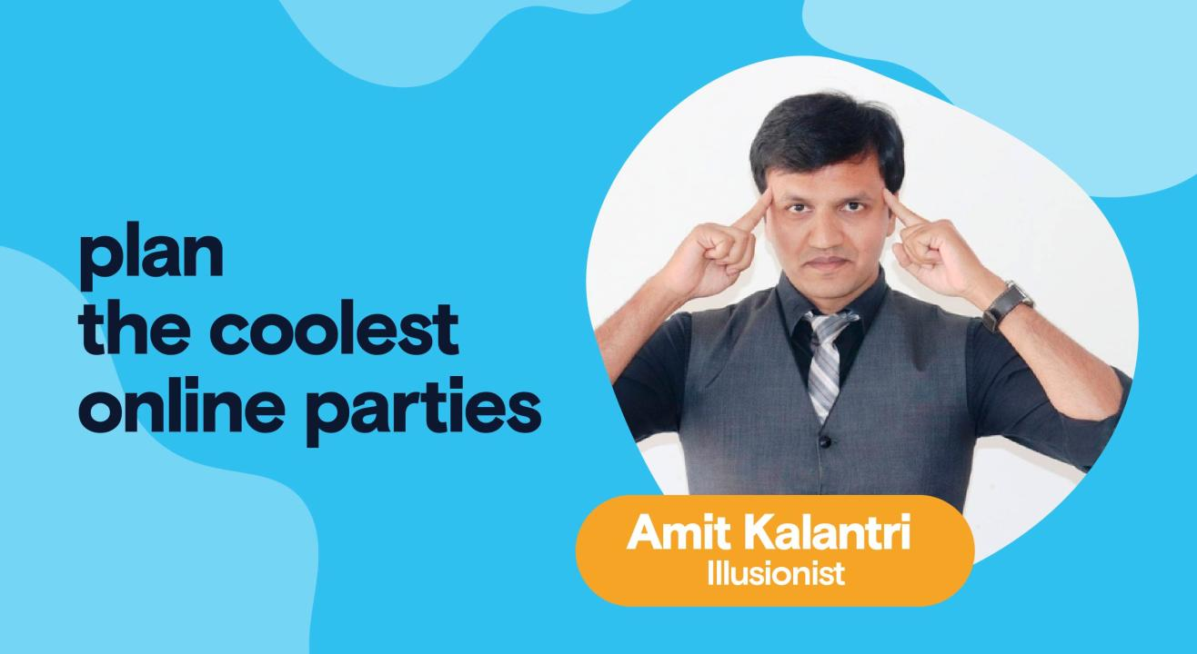 Private Party with Amit Kalantri - Illusionist