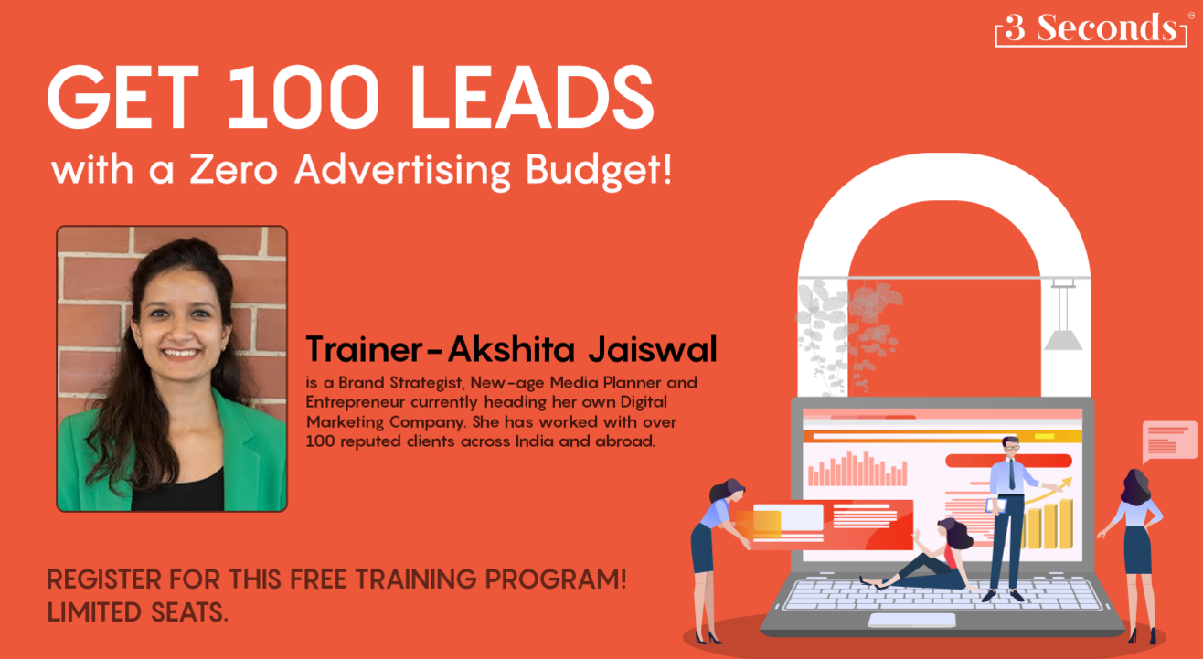 Get 100 Leads with a ZERO Advertising Budget