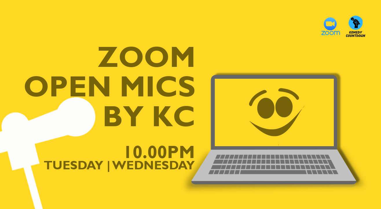 Zoom Open Mics By KC!