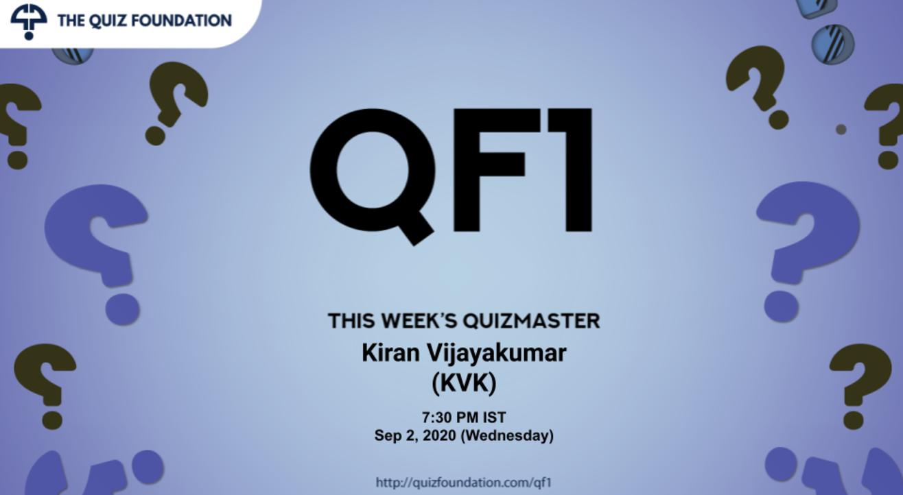 QF1 Solo Quiz by KVK