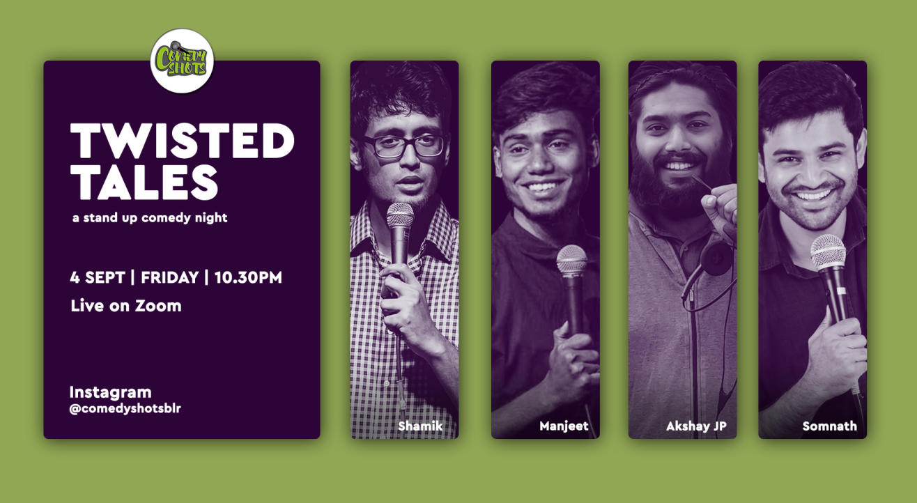 Twisted Tales- A storytelling Comedy Show