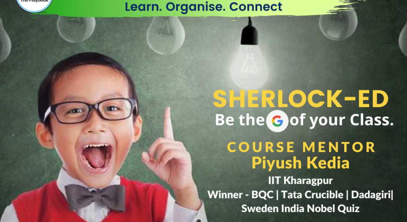 Be the Google of your class with IITian Piyush   9 sessions