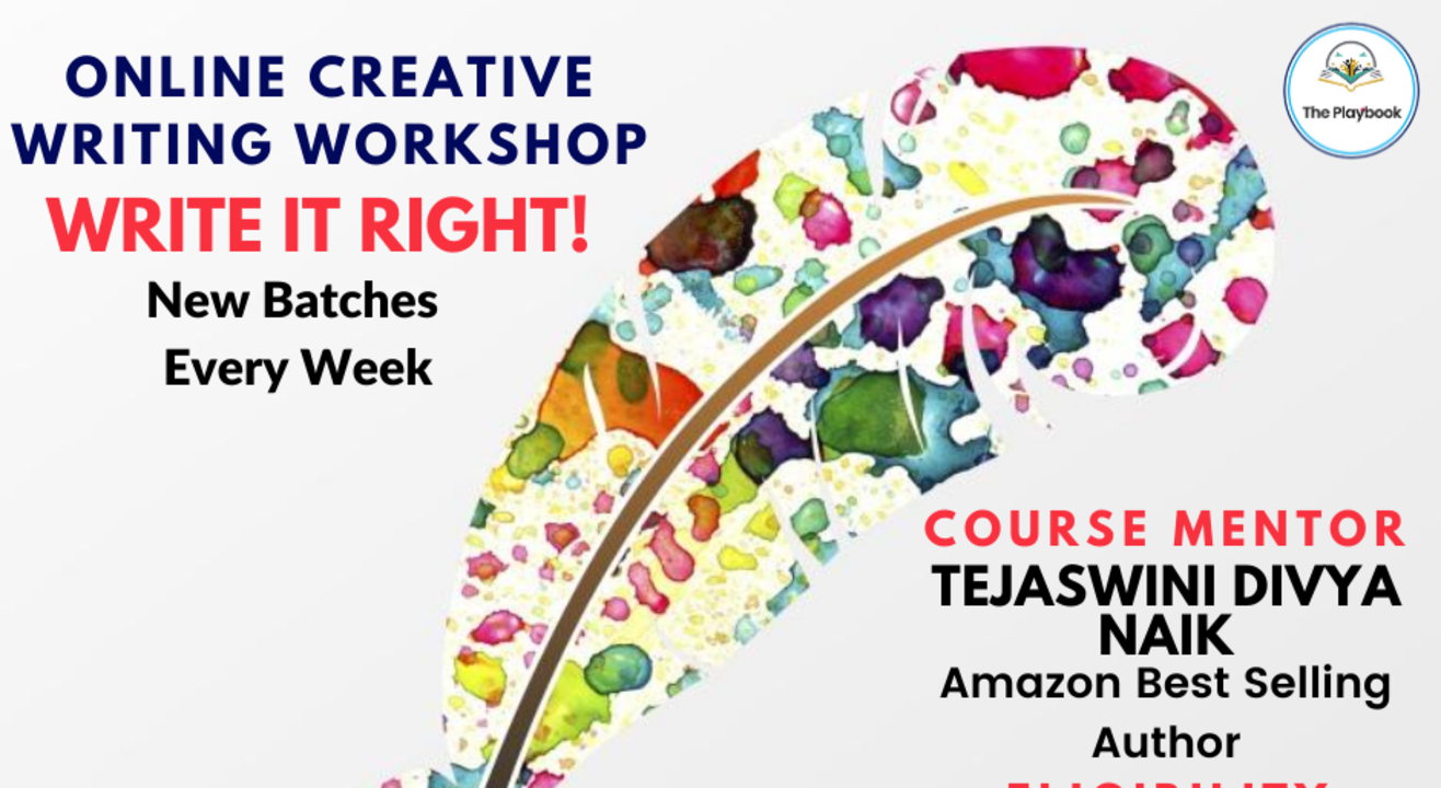 Become an Author with Tejaswini   8-18 years   12 sessions