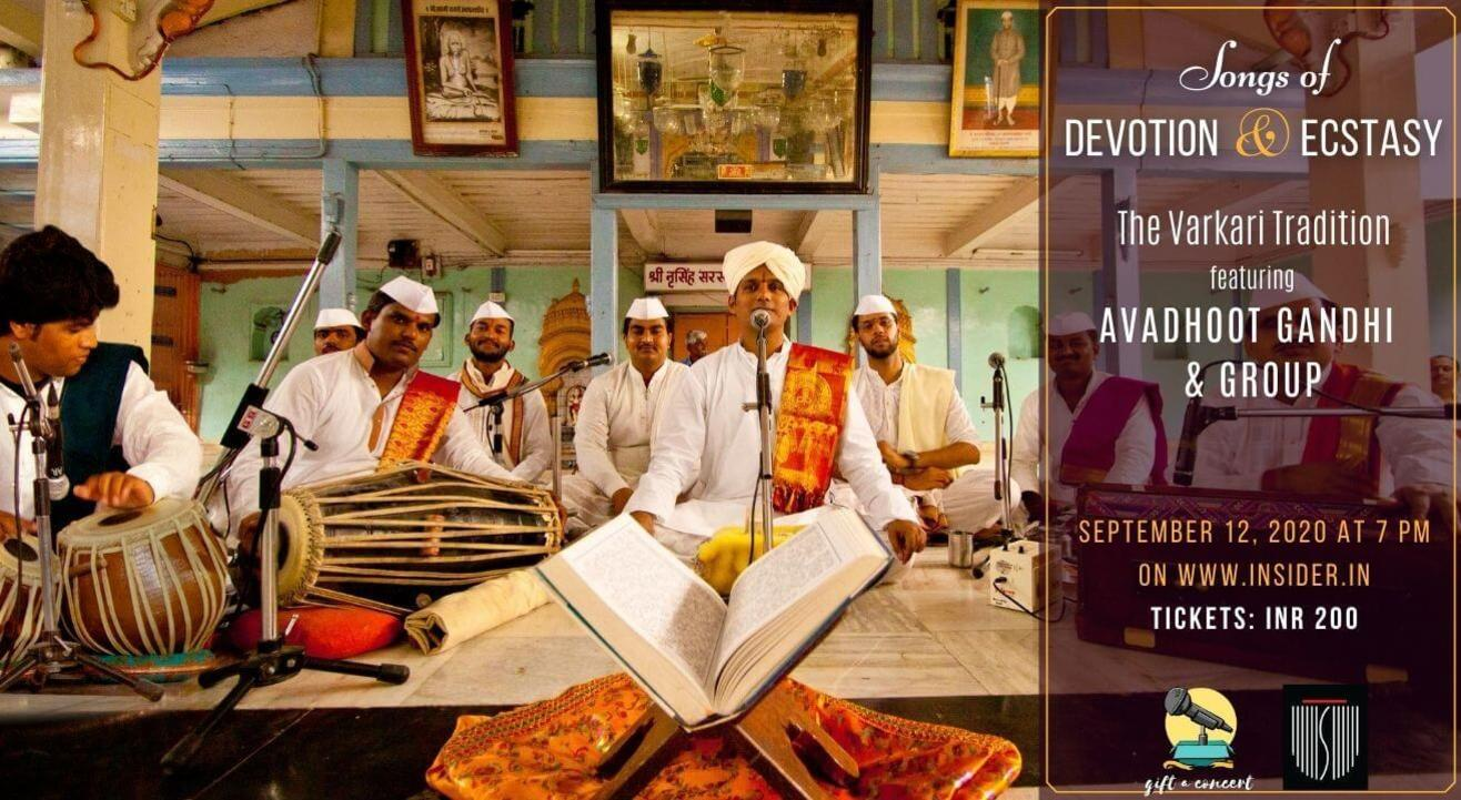 Songs of Devotion & Ecstasy: The Varkari Tradition feat. Avadhoot Gandhi