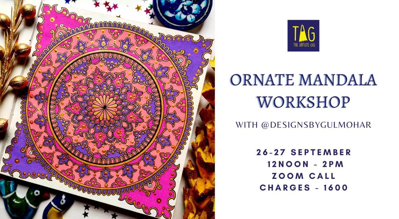 Ornate Mandala Workshop