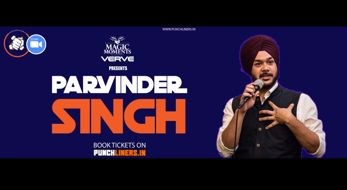 Punchliners Comedy Show ft. Parvinder Singh