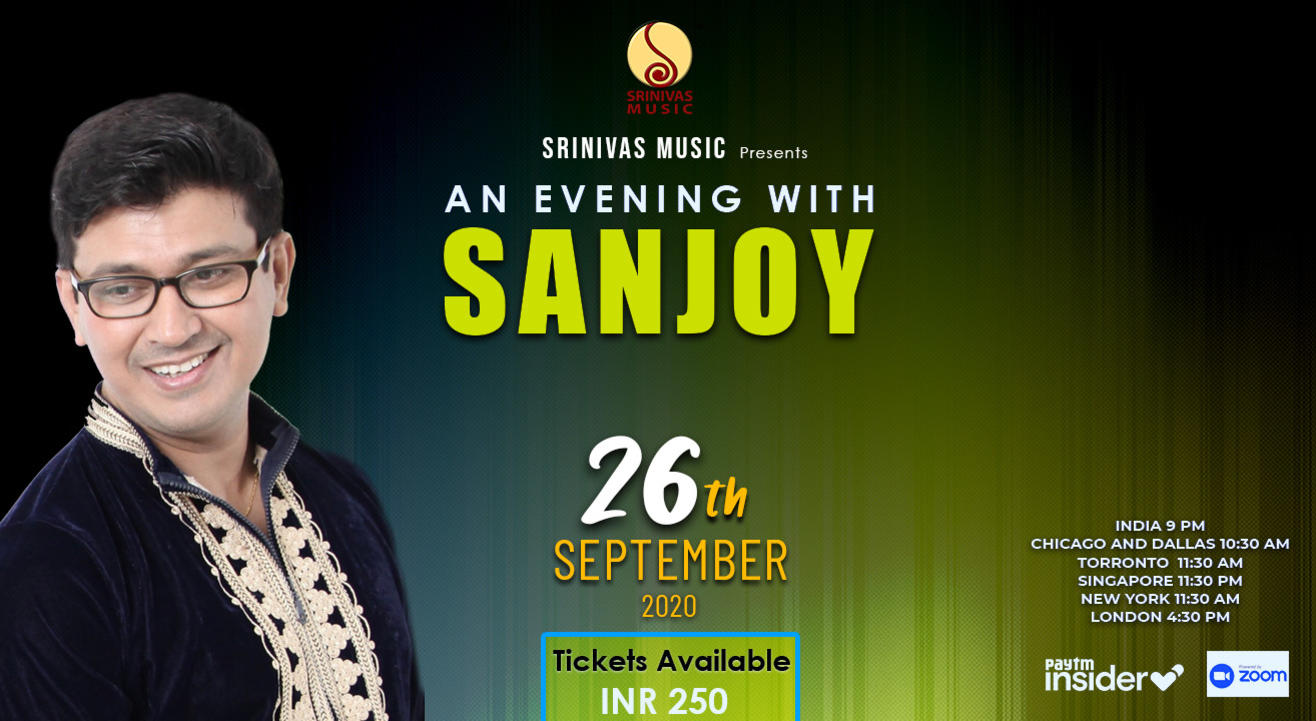 An evening with SANJOY