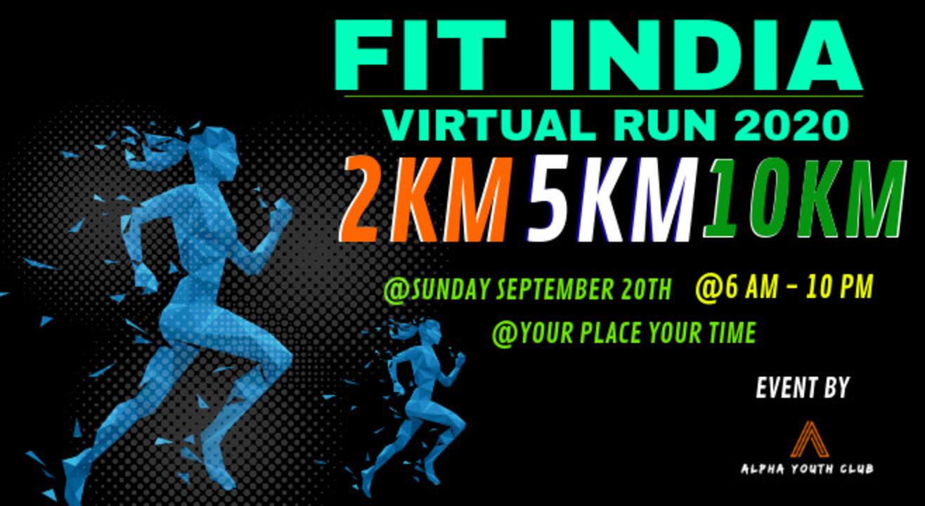 Fit India Virtual Run 2020