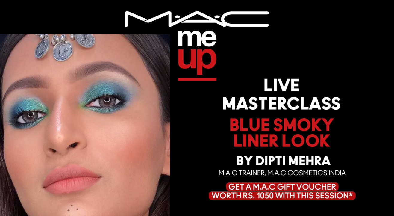 Blue Smoky Liner Look | M·A·C Cosmetics