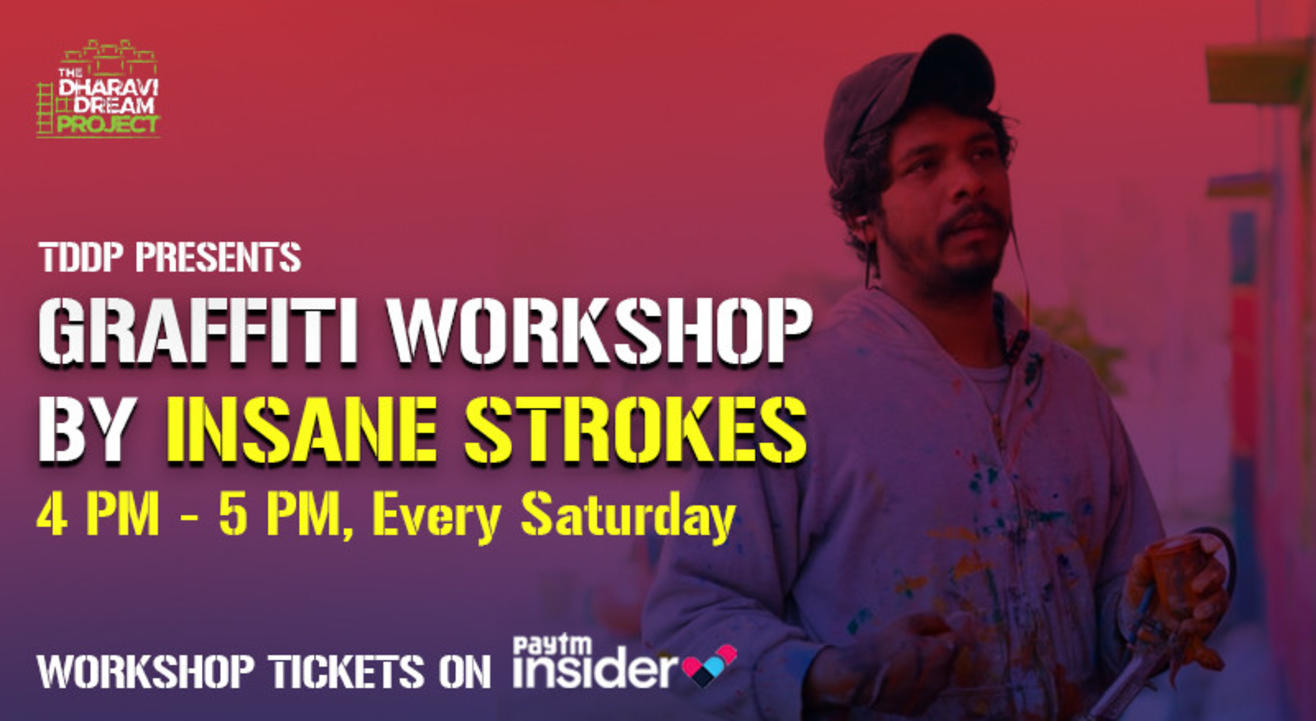 Street Art online workshop for TDDP students with INSANE STROKES!