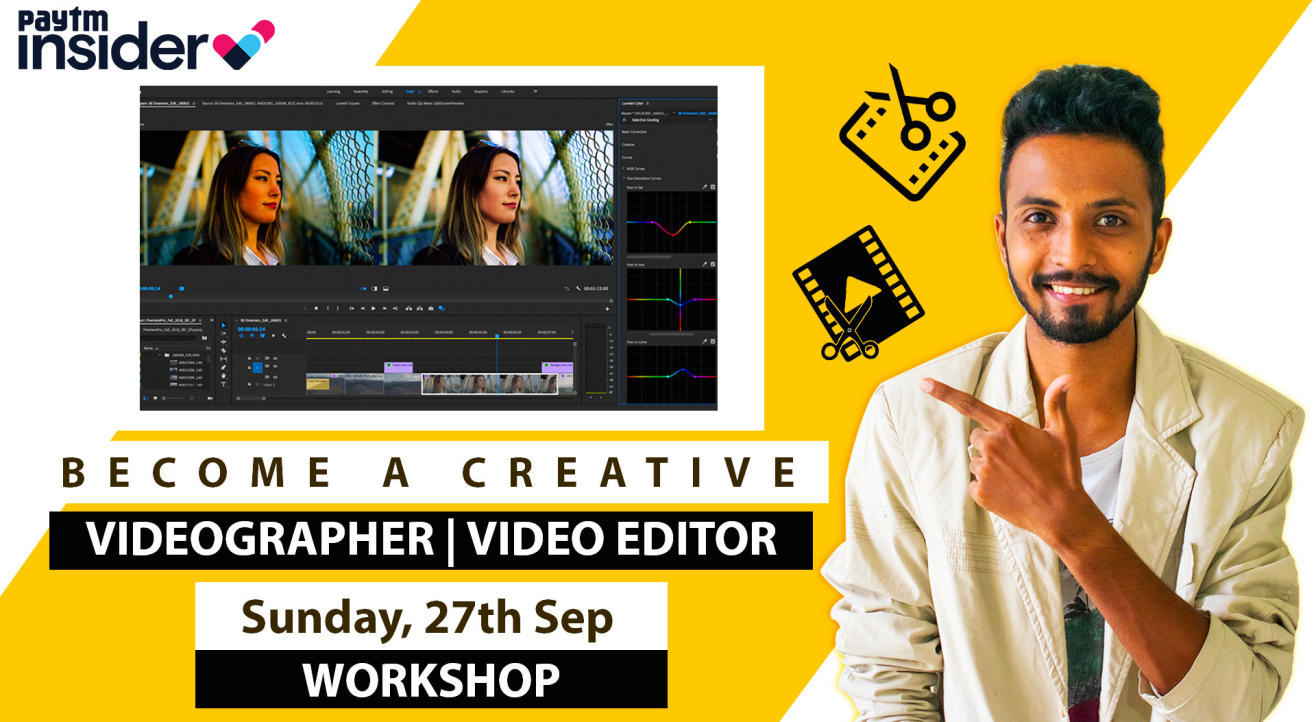 Video Editing Workshop With Satish