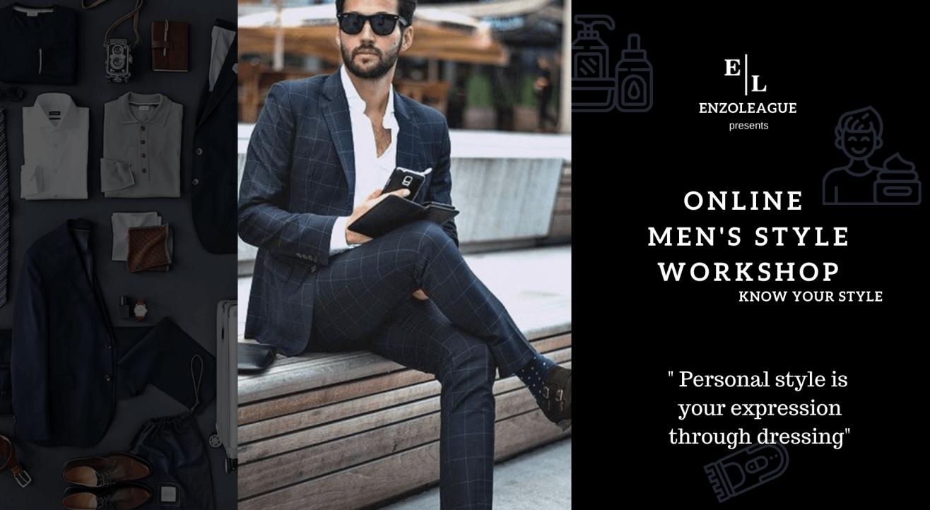Online Men's Style Workshop
